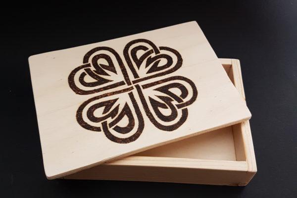 Home Decor - Cofanetto in legno - idea reagalo - Barone Woody Maker