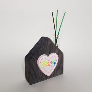 Creazioni in legno - Casetta profumo ambiente in legno - Barone Woody Maker