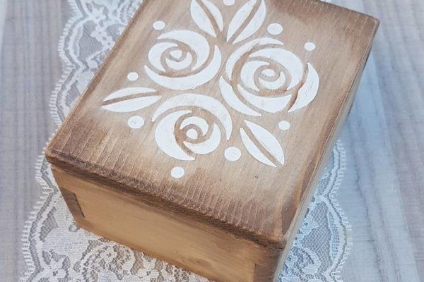 Home Decor - Cofanetto porta gioie in legno - Barone Woody Maker