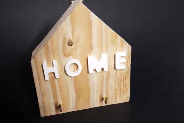 Home Decor - Portachiavi da parete in legno - Casetta in legno portachiavi - Barone Woody Maker